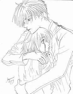 The gallery for --> Cute Hug Sketch