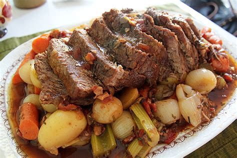 how to cook a pot roast on the stove here s the dish on pot roast carolina yankee