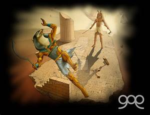 Horus vs Seth by estudiogam on DeviantArt