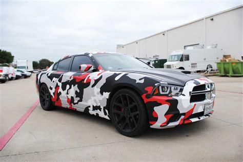 camo wrapped cars custom matte camo charger wrap car wrap city