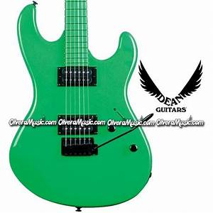 DEAN GUITARS Custom Zone Electric Guitar Neon Green