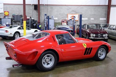 The ferrari 250 was the corporation's first commercially prosperous car, which spawned a wide variety of unique variants over. STUNNING Aluminum rebodied 330 GTO Real 1965 Ferrari 330GT ...