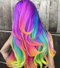 """Hidden Rainbow Hair"" Trend Conceals Vibrant Colors"