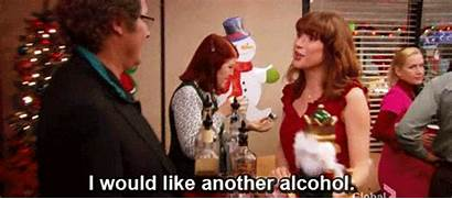 Office Party Alcohol Erin Hannon Holiday Drunk