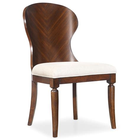 wood side chairs furniture palisade shaped wood back side chair with 1149