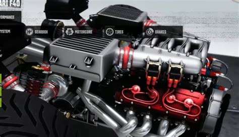 The enzo's v12 engine is the first of a new generation for ferrari and it was first produced in 2002 using formula 1 technology. Ferrari F40 Engine Bay - Car View Specs
