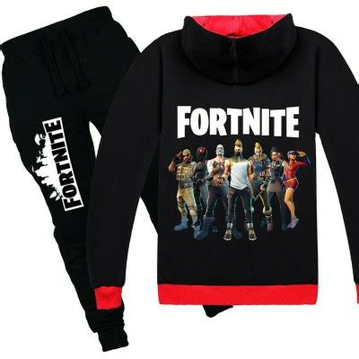 fortnite kids cotton zip hoodies boys girls sweatshirts