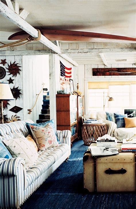 ralph home decor rustic americana in a seaside cottage from ralph
