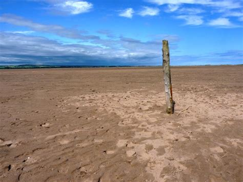 Wooden post in the sand © Richard Law :: Geograph Britain ...