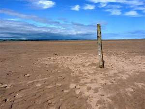 Wooden, Post, In, The, Sand, U00a9, Richard, Law, Geograph, Britain