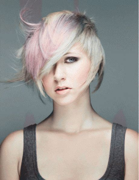 kurze haare zweifarbig