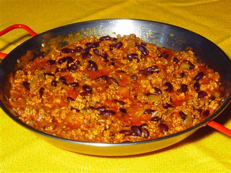 recette cuisine chilienne chili con carne rapide abc recettes