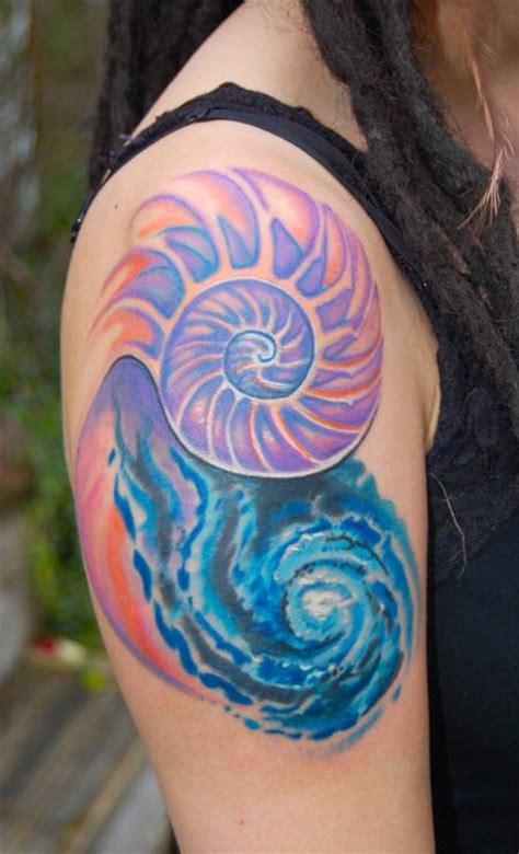 spiral galaxy tattoos
