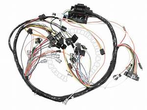 1966 Corvette New Repro Dash Ip Wiring Harness Usa Made Lectric Ltd
