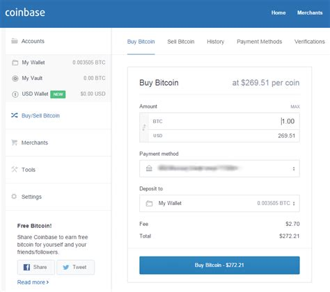 Coinbase allows you to buy btc with a credit card or bank transfer. Coinbase - Buy & sell Bitcoin on the App Store