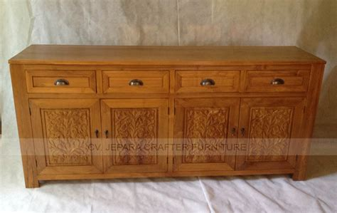 Teak Sideboard Buffet by Teak Indoor Furniture Buffet Sideboard Dressoire Carving