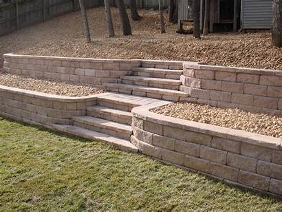 Retaining Wall Steps Stone Fredericksburg Virginia Walls