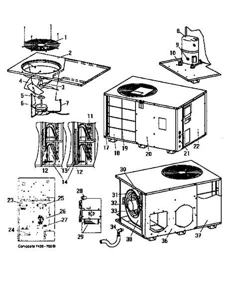 Evcon Air Conditioner Wiring Diagram by Central Air Unit Parts Diagram Downloaddescargar