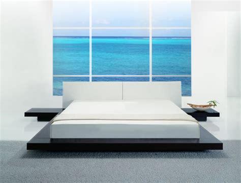opal  profile platform bed bedroom sets