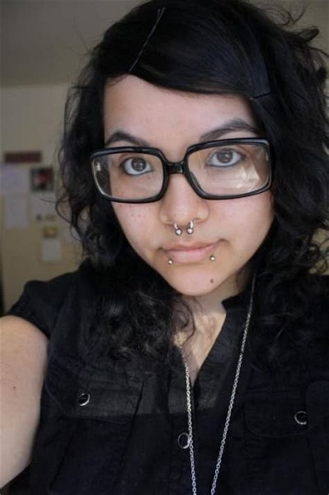 Chubby Emo With Piercings Glasses Tattoos