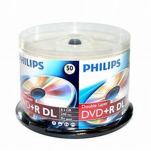 Double Layer Dvd : philips branded dual layer 8x dvd r dl blank disc ~ Kayakingforconservation.com Haus und Dekorationen