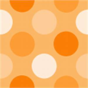 Orange Polka Dot Background - Orange Polka Dot Background ...