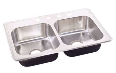 "Brand New Sterling 7"" Stainless Steel Kitchen Sink Top"