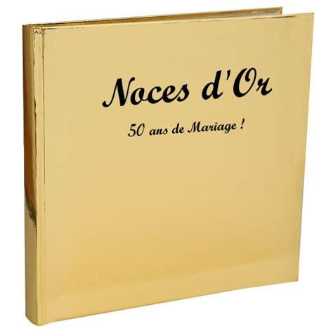 anniversaire de mariage noces d or livre d or noces d or