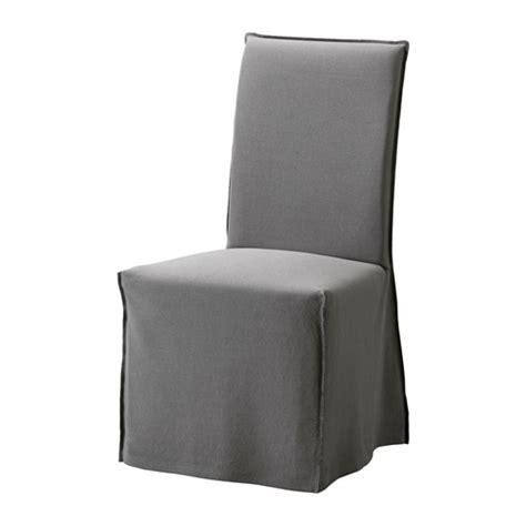 housse chaise ikea henriksdal chaise avec housse longue risane gris blanc