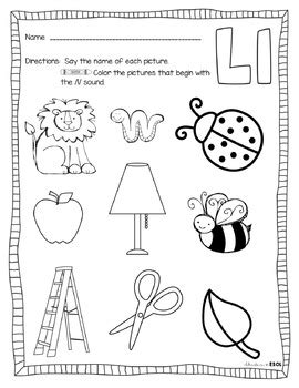 letter l activities and letter l word cards by adventures 976 | original 2839955 2