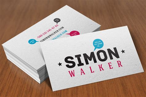12+ Inspirational Personal Business Card Designs