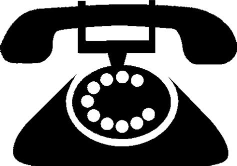 telephone clipart black and white telephone clip