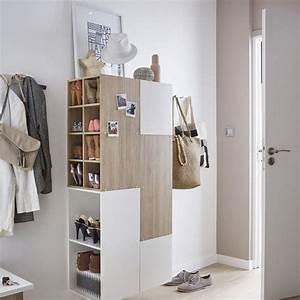 Casier A Chaussure : des meubles chaussures pratiques et d co c t maison ~ Nature-et-papiers.com Idées de Décoration