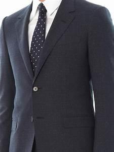 Lanvin Evolution Fit Woolblend Suit In Blue For Men