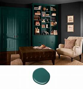 Colorfully, BEHR :: Color of the Month: Hunter Green