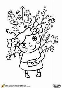 dessin a colorier de deux petits oiseaux tenant chacun With tapis chambre bébé avec bouquet de fleurs Á colorier
