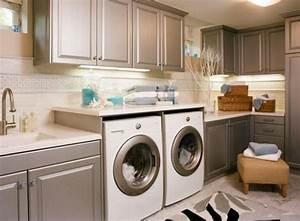 Farbe Für Waschküche : waschk che einrichten 33 ideen f r einen modernen w scheraum ~ Sanjose-hotels-ca.com Haus und Dekorationen