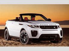 LA Auto Show 2017 Land Rover Evoque Convertible BestRide