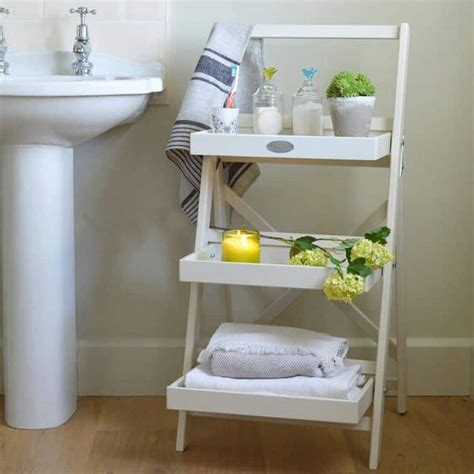 beautiful  affordable ladder shelf ideas   room