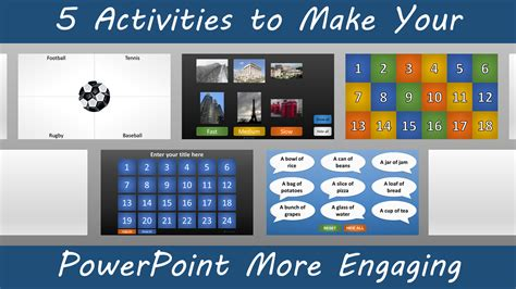 activities    powerpoint  engaging