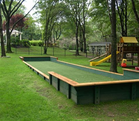 bocce court surfaces bocce ball court dimensions awesome bocce ball court wedgelog design