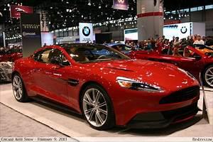 Aston Martin Vanquish in Red Lion - BenLevy.com