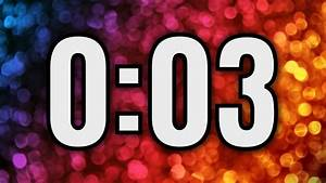 3, Second, Timer, U23f2, Ufe0f