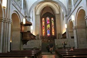 The Church inside. - Picture of Grossmunster, Zurich ...