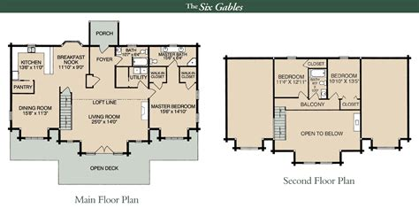 two bedroom cottage house plans the six gables