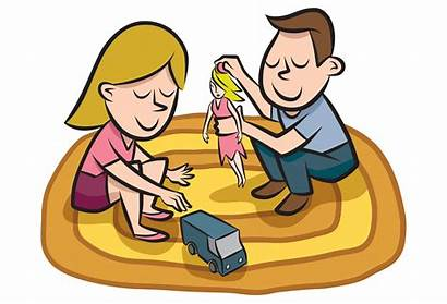 Toys Sharing Clipart Gender Roles Stereotyping Susceptible