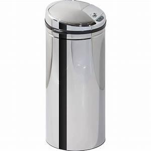 Barre Ustensiles Cuisine Leroy Merlin : poubelle de cuisine 50 l inox leroy merlin ~ Melissatoandfro.com Idées de Décoration
