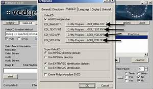 Vcd Mpg1 File To Cd Question
