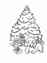 Coloring Pages Christmas Xmas Trees Tree Puppy Sheet Blogthis Email Twitter sketch template