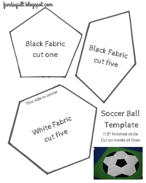 quilted soccer ball brights  white